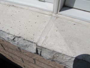 Window Sill Mortar Cracks Repair How-to